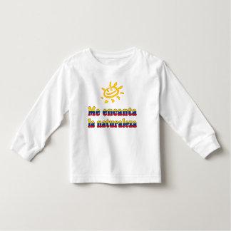Me Encanta la Naturaleza - I Love Nature Colombian Toddler T-shirt
