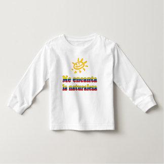 Me Encanta la Naturaleza I Love Nature Ecuadorian Toddler T-shirt