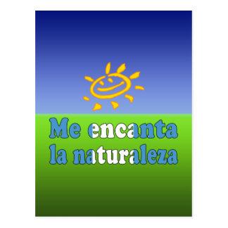 Me Encanta la Naturaleza I Love Nature Guatemalan Postcard