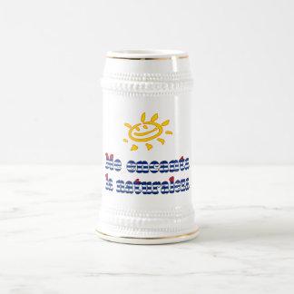 Me Encanta la Naturaleza - I Love Nature in Cuban Beer Stein