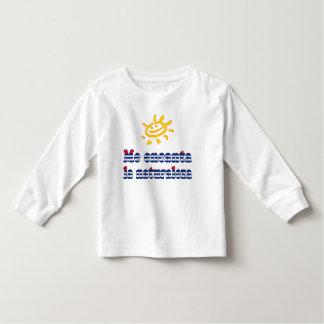 Me Encanta la Naturaleza - I Love Nature in Cuban Toddler T-shirt