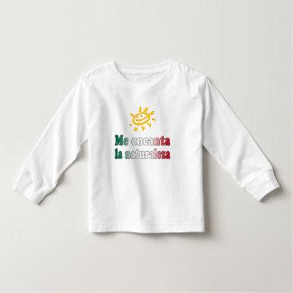 Me Encanta La Naturaleza I Love Nature in Mexican Toddler T-shirt