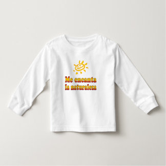 Me encanta la naturaleza I Love Nature in Spanish Toddler T-shirt