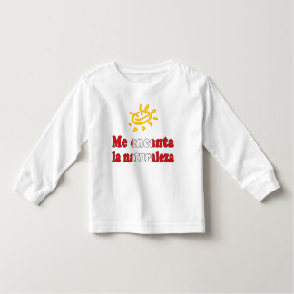 Me Encanta la Naturaleza - I Love Nature Peruvian Toddler T-shirt
