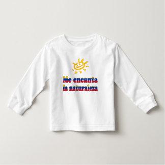 Me Encanta la Naturaleza I Love Nature Venezuelan Toddler T-shirt