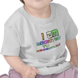 Me envician a la leche materna camiseta