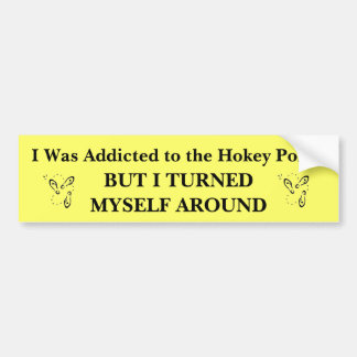 Me enviciaron al Pokey de Hokey Pegatina De Parachoque