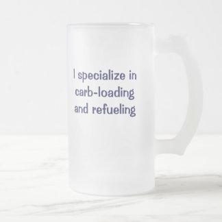 Me especializo en el carburador-cargamento y el taza de cristal