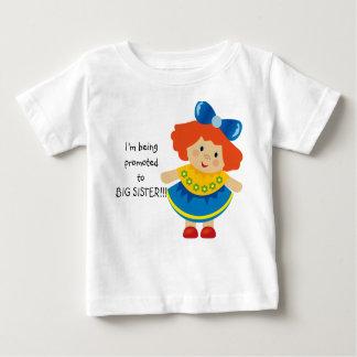 Me están promoviendo a la camiseta del niño de la poleras
