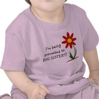 Me están promoviendo al niño Tshrit de la hermana  Camiseta