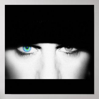 Me Eyes Film Blue Print