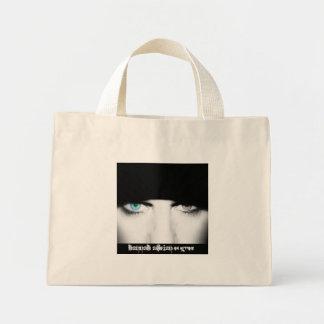 Me Eyes Film Blue Tote Canvas Bags