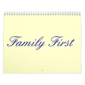 me, Family First Calendar