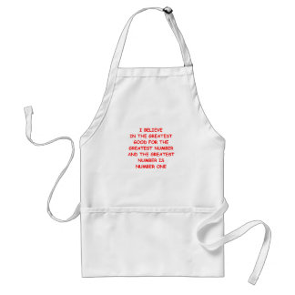 me first adult apron