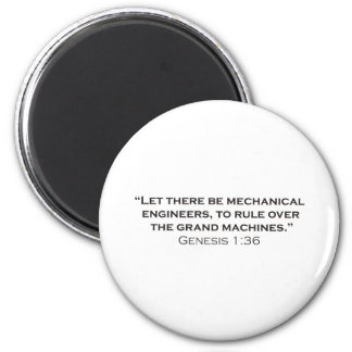 ME / Genesis Refrigerator Magnet