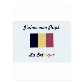 Me gusta a Belgique.jpg Postal