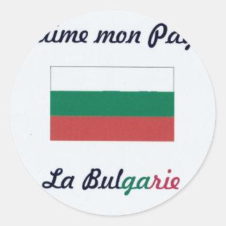 Me gusta a Bulgarie jpg Pegatina