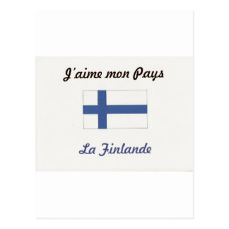 Me gusta a Finlande.jpg Tarjeta Postal