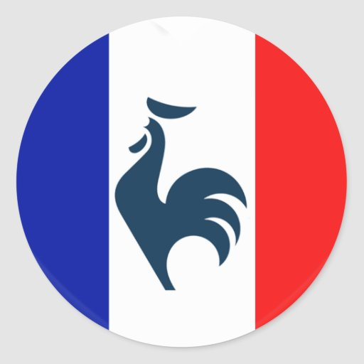 Me gusta a gallo bandera Francia