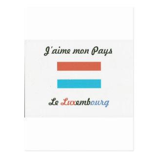 Me gusta a Luxembourg.jpg Tarjeta Postal