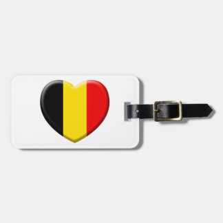 me gusta Bélgica Etiqueta Para Maleta