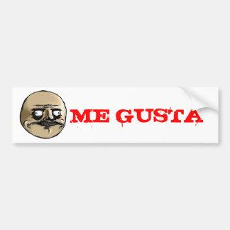 ME GUSTA BUMPER STICKERS