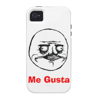 Me Gusta Vibe iPhone 4 Case