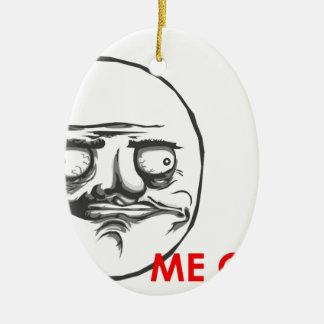 Me Gusta Ceramic Ornament