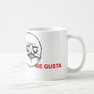 me gusta coffee mug