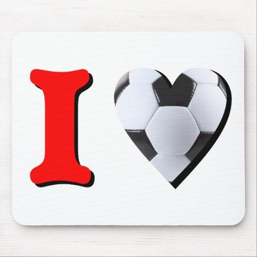 Me gusta el Fútbol Tapetes De Raton