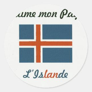 Me gusta el Islande jpg Pegatinas
