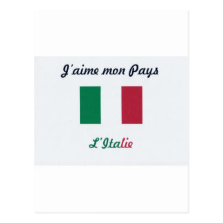 Me gusta el Italie.jpg Tarjeta Postal