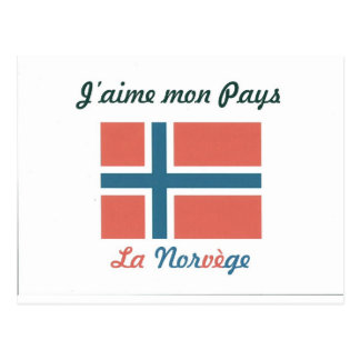 Me gusta el Norvège.jpg Postal