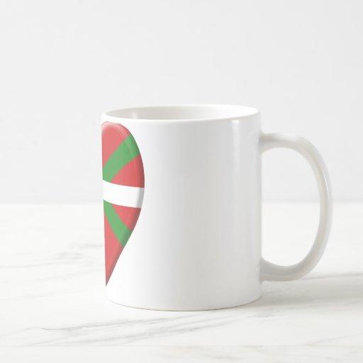 me gusta el País Vasco Tazas De Café