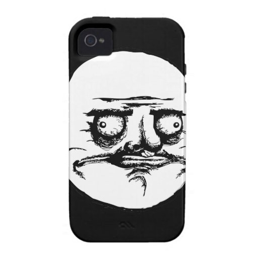 Me Gusta Face for Men funny internet iPhone 4 Covers