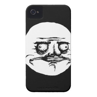 Me Gusta Face iPhone 4 Case-Mate Case