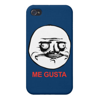 Me Gusta Face Meme Cover For iPhone 4