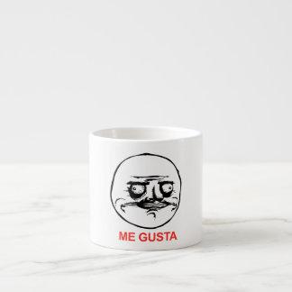 Me Gusta Face Meme Espresso Cup