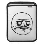 Me Gusta Face Meme iPad Sleeves