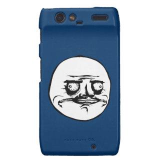 Me Gusta Face Meme Motorola Droid RAZR Cover