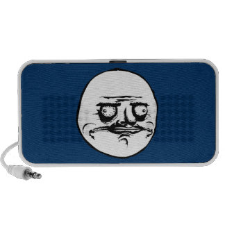 Me Gusta Face Meme Portable Speakers