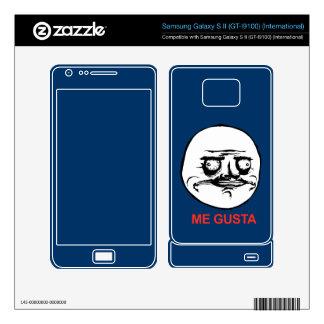 Me Gusta Face Meme Samsung Galaxy S II Decal