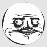 Me Gusta Face Meme Stickers