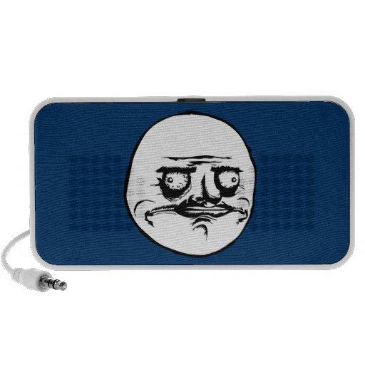 Me Gusta Face Meme Travel Speakers
