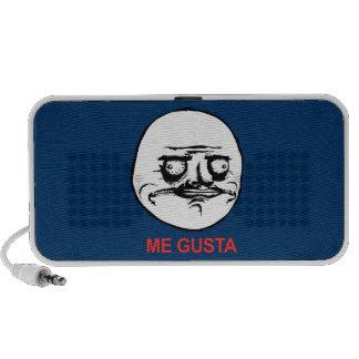 Me Gusta Face Meme Travelling Speaker