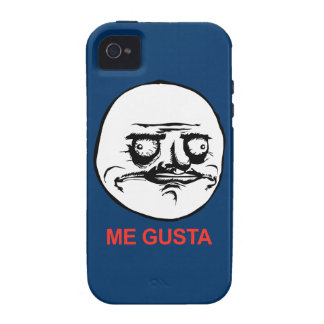 Me Gusta Face Meme Vibe iPhone 4 Case