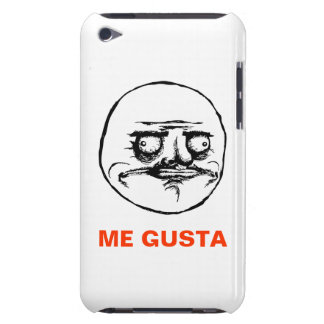 me gusta face rage face meme humor lol rofl iPod touch case