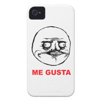 me gusta face rage face meme humor lol rofl iPhone 4 Case-Mate case