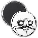 me gusta face rage face meme humor lol rofl magnet