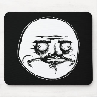 me gusta face rage face meme humor lol rofl mouse pad